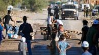 به آتش کشیدن خودرو نظامیان صهیونیست