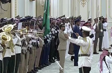 تعجب پوتین از اجرای ناهماهنگ سرود ملی روسیه توسط سعودیها