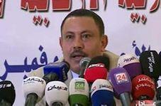 کفش پرتاب کردن یک خبرنگار به سمت وزیر فراری یمن