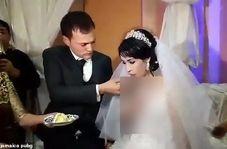 اقدام عجیب داماد در مراسم عروسی!