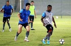 آخرین تمرین تیم الدحیل قبل از بازی با پرسپولیس