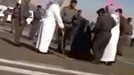 اعدام یک زن با شمشیر در عربستان + فیلم