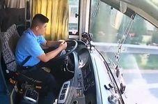 بیحوصلگی راننده اتوبوس فاجعه آفرید
