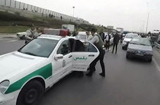 تعقیب و گریز اوباش قمهکش در اتوبانهای تهران با بالگرد
