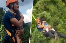 پدر خام با اقدام عجیب خود جان دخترش را به خطر انداخت!
