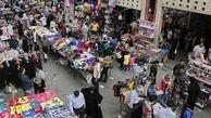 غرقآبی کردن بازار اهواز برای مقابله با دستفروشان و تجمع مردم!