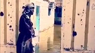 روستای زیر آب رفته گرمه در شادگان + فیلم