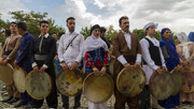 اجتماع بزرگ دف نوازان ایران در سنندج