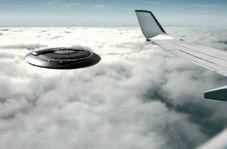 پرواز یوفوی مرموز در مجاورت هواپیمای مسافربری!