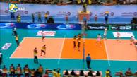 خلاصه والیبال ایران 3 - 0 سریلانکا (قهرمانی آسیا)