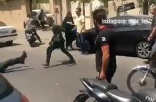 ضارب پلیس تهران دستگیر شد
