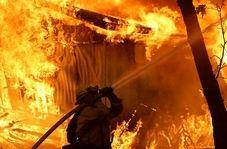 مهار آتش سوزی مهیب در ایالت فیلادلفیای آمریکا