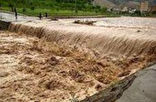 خودروهایی که در پرند اسیر سیلاب شدند