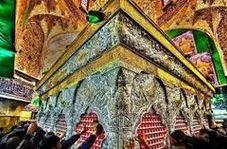 ویدئویی دیده نشده از داخل ضریح امام حسین(ع)