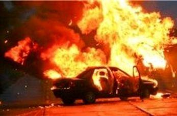 لحظه انفجار وحشتناک یک خودرو در چین