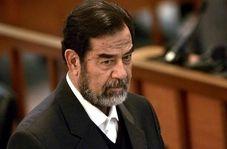 لحظه اعدام صدام حسین