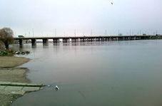 بالا آمدن سطح آب رودخانه زرینه رود در میاندوآب