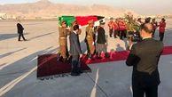 تابوت پزشک ژاپنی بر دوش رئیس جمهور افغانستان