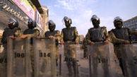 درگیری نیروهای امنیتی و معترضان در کربلا