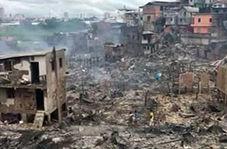 انفجار زودپز، ۶۰۰ خانه را به آتش کشید