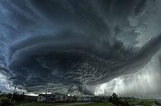 شرق آمریکا در انتظار طوفانی سهمگین!