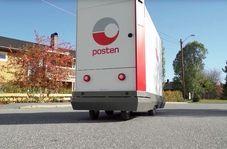 ربات پستچی در خیابانهای نروژ
