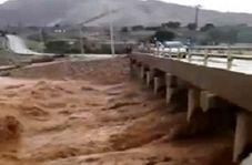 طغیان رودخانه سرخکان در اندیمشک