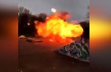 آزمایش خطرناک چند جوان که به وقوع انفجاری مهیب منجر شد