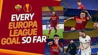 تمامی گلهای آاس رم در فصل 2021 یورو لیگ