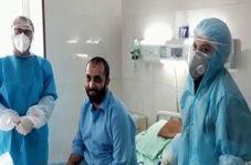 بیمار قمی: برای زحمت شبانه روزی کادر درمانی اشک ریختم/فیلم