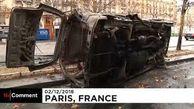 بلایی که جلیقه زردها سر کوچههای پاریس آوردند