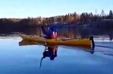 فیلم فرآیند حیرت انگیز ساخت قایقهای کایاک