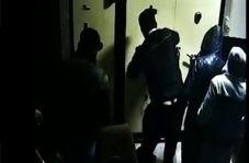 غارت فروشگاه و سرقت از بانک توسط آشوبگران در استان البرز + فیلم