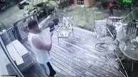 غافلگیر شدن دزد توسط صاحبخانه!