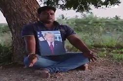 وقتی ترامپ خدای مرد هندو میشود!