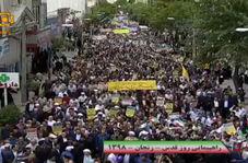 جاری شدن سیل قدرت و اتحاد در خیابانهای زنجان