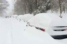 فلج شدن نیویورک در پی بارش سنگین برف