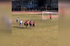 اتفاقی جالب در یکی از بازی های لیگهای ترکیه