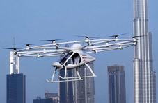 اولین تاکسی پرنده در دبی با موفقیت آزمایش شد