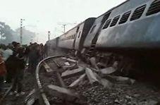 خارج شدن قطار از ریل در هند با ۳۱ کشته و زخمی