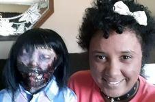 ازدواج عجیب دختر جوان با عروسک زامبی!