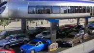 وسیله نقلیه هیجان انگیزی که ترافیک را دور میزند!