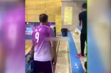 شکست عادل فردوسیپور مقابل حسین طیبی در کلکل فوتبالی