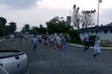 فرار زندانی ها از زندان بدلیل شیوع کرونا در برزیل