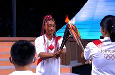 مراسم روشن کردن مشعل المپیک توکیو 2020