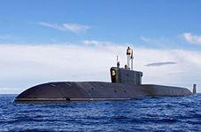 روسیه جدیدترین زیردریایی خود را به آب انداخت!
