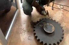 جاسازی ۷۰ کیلوگرم حشیش در چرخ دنده!