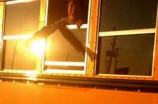 دانش آموزانی که به دست راننده در سرویس مدرسه زندانی شدند