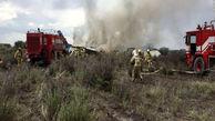 سقوط یک هواپیمای مسافربری در مکزیک
