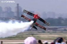 مسابقه ماشین و هواپیما در جشنواره هوایی چین